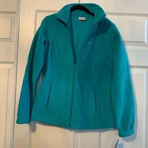 Women's new with tag Columbia fleece jacket